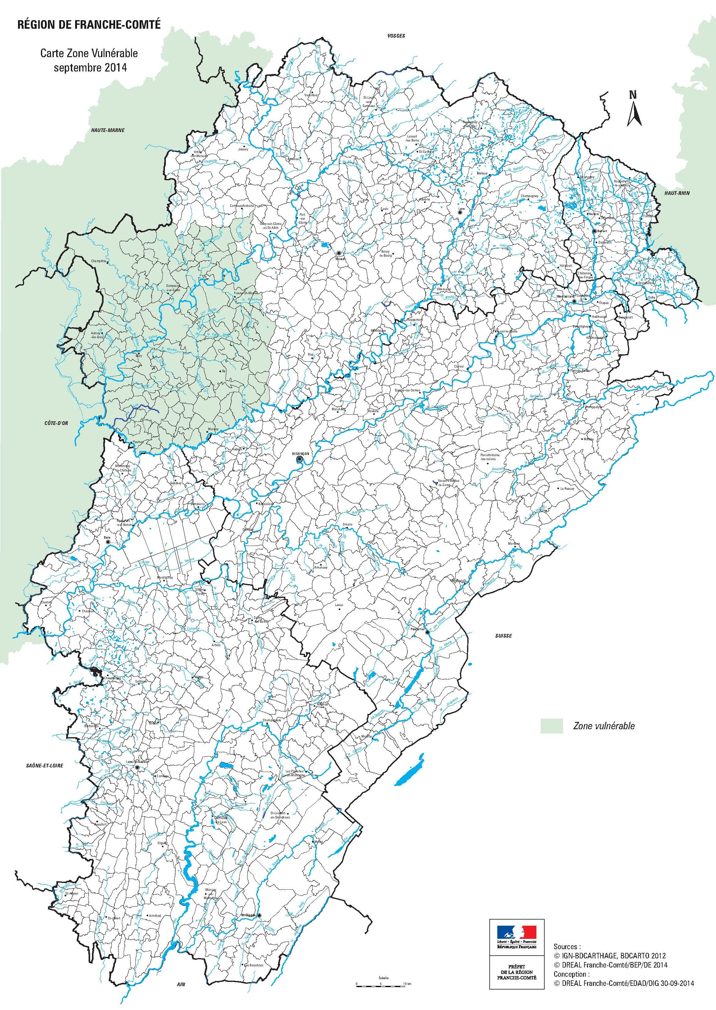Pratiques agricoles profil environnemental de la franche for Zone commune